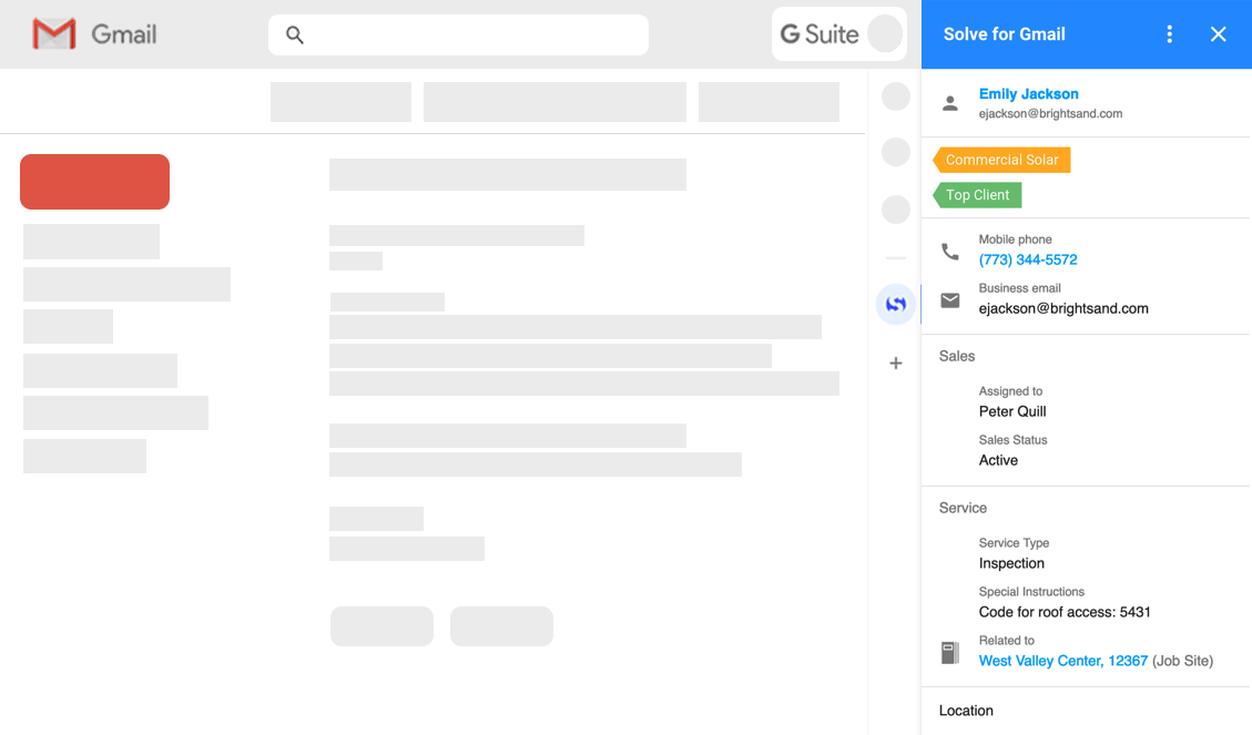 Solve for Gmail Add-on